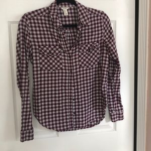 Forever 21 button down shirt size S